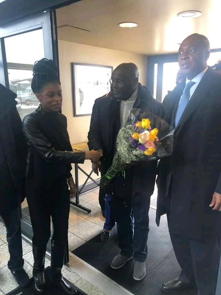 Breaking - Atiku finally Visits USA, See photos.