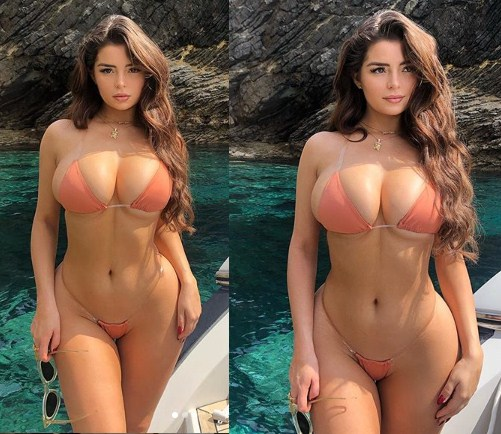 Demi Rose in bikini