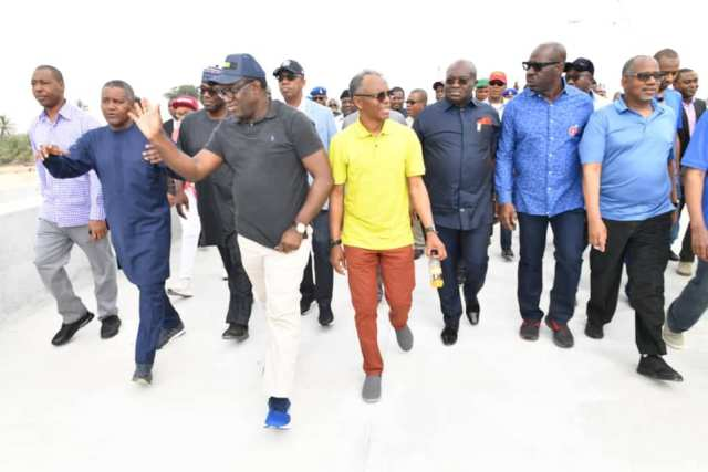 State Governors visits Dangote refinery lagos state