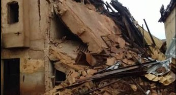Lagos couple mourns the death of their only two kids in a building collapse