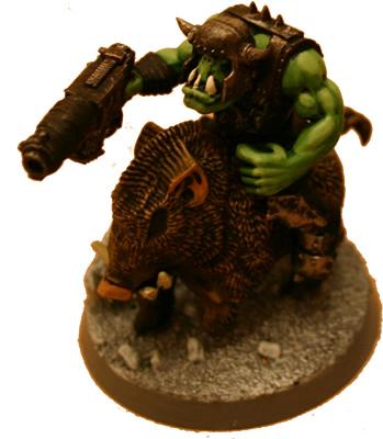 Feral Ork Boar Boy