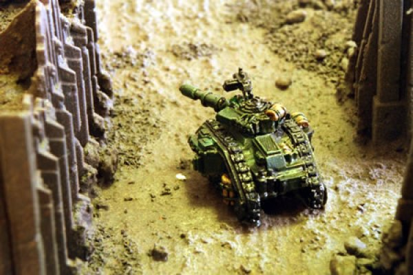 Epic Imperial Guard Leman Russ Main Battle Tank