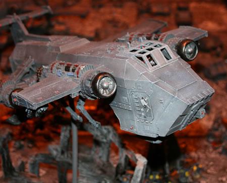 Space Wolves Thunderhawk Transporter