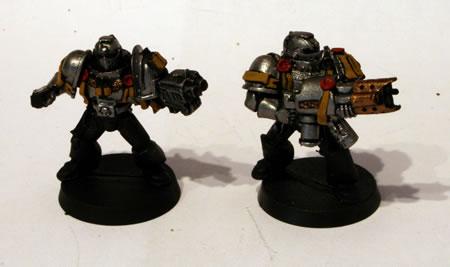 Grey Knights Land Speeder Crew