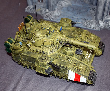 Imperial Guard Baneblade super heavy tank