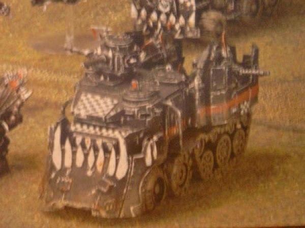Ork Battlewagon - First Pic