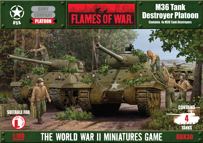 Flames of War M36 Jackson