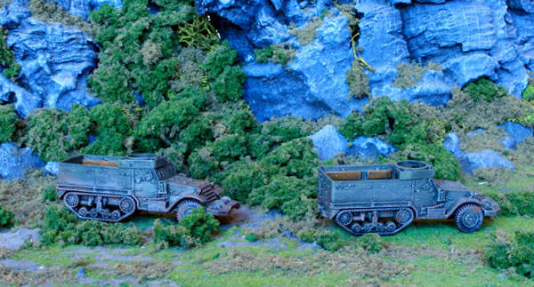 Flames of War M5 Half Track