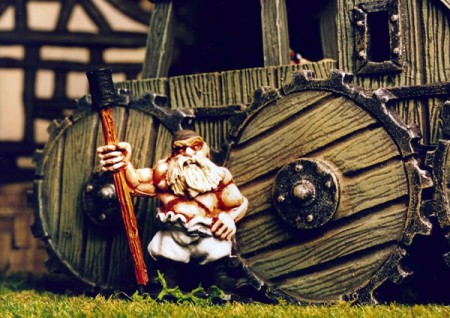 Dwarf Steamwagon Crew