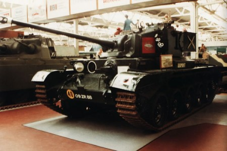 The Tank, Cruiser, Comet I (A34) was a British cruiser tank that first saw use near the end of World War II.