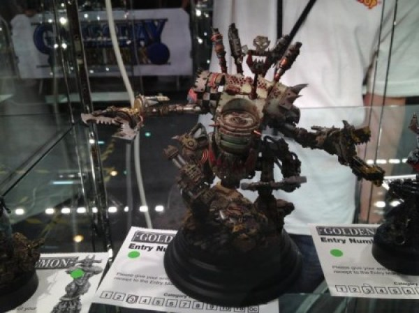 Ork Golden Demon entry