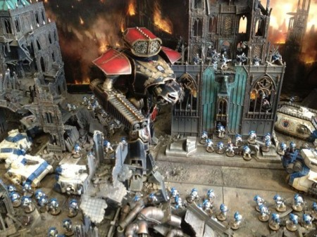 Forge World Diorama – Games Day 2012