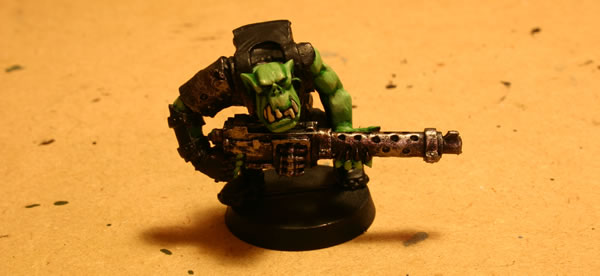 Ork with Heavy Weapon