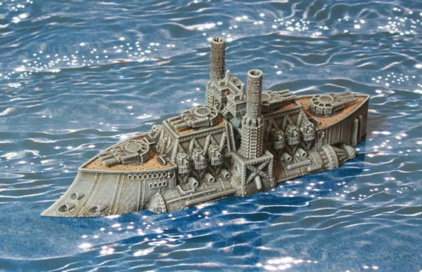 Dystopian Wars Kingdom of Britannia Ruler Class Battleship HMS King Richard III