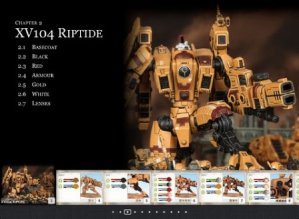 How to Paint Citadel Miniatures: Tau Empire