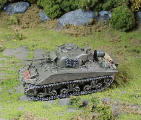 Flames of War British Sherman Tank