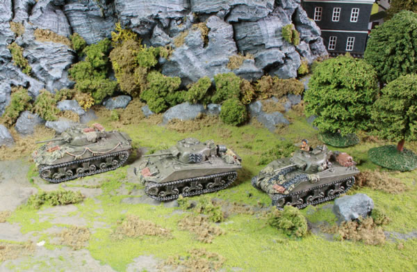 Flames of War British Sherman Tanks