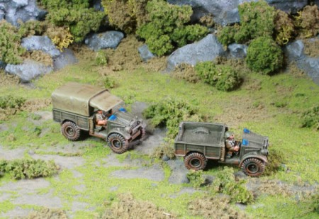 15mm Morris 15 cwt trucks