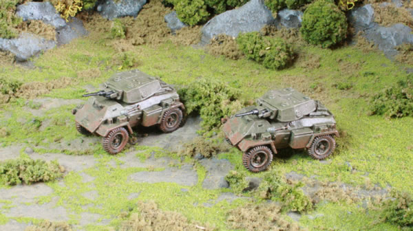 Flames of War British Armoured Cars