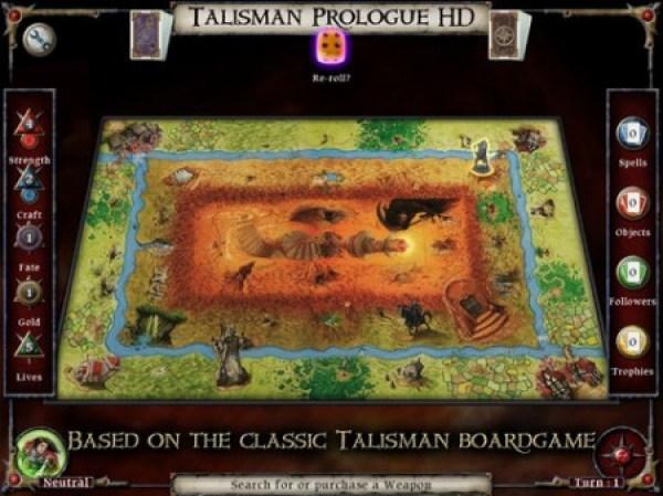 Talisman Board