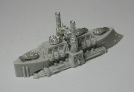 King John - Ruler Class Battleship