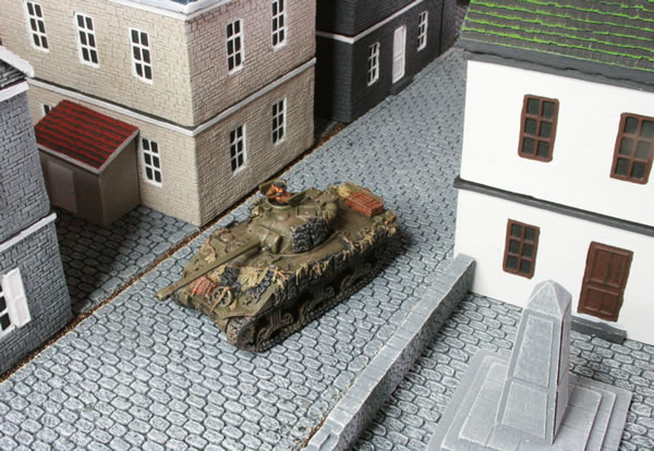 Flames of War Sherman Tanks