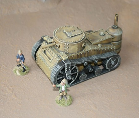 Victorian Science Fiction Steam Tank
