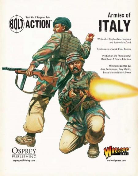 Bolt Action Italian Army List