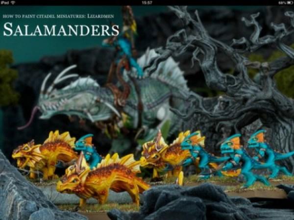 How to Paint Citadel Miniatures: Lizardmen