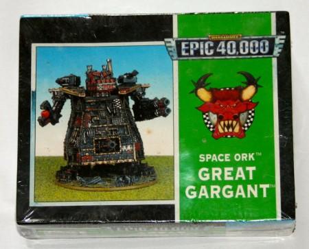 Shrink Wrapped OOP Epic 40000 Space Ork Great Gargant