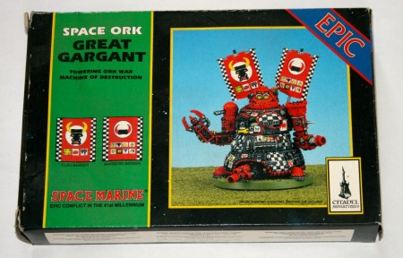 OOP Space Marine Epic Space Ork Great Gargant