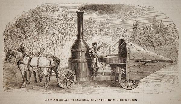 Steampunk Old West: Winan's steam gun