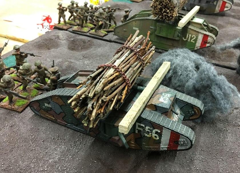 54mm World War One Tank