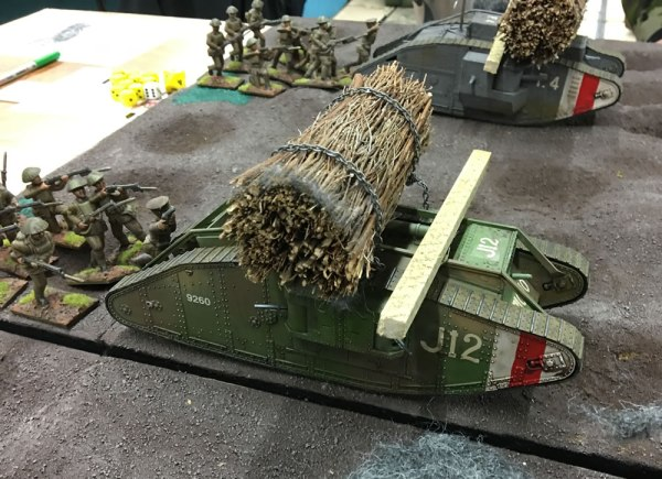54mm World War One Tank