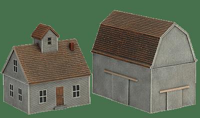 Farm House & Barn