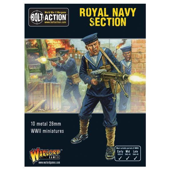 Warlord Games Bolt Action Royal Navy section