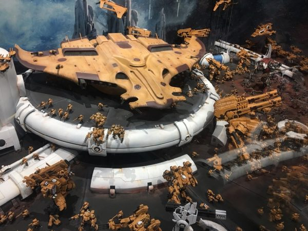 au Manta at Warhammer World