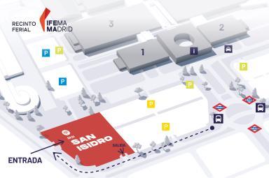 Plano de San Isidro en IFEMA MADRID