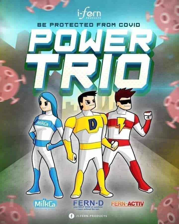Power Trio MilkCa Fern-D Fern-Activ
