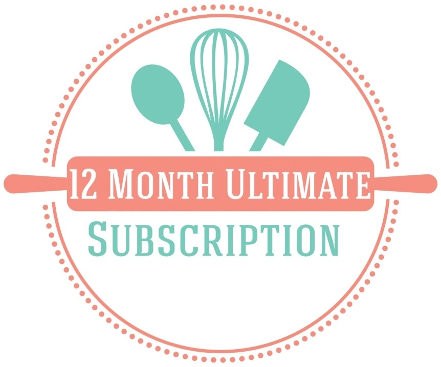 12 month ultimate baking subscription box