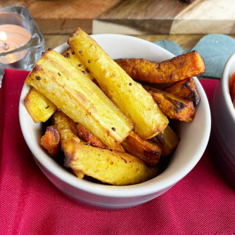 Roasted Vegetables with AVO Lafiness Honey & Mustard Marinade