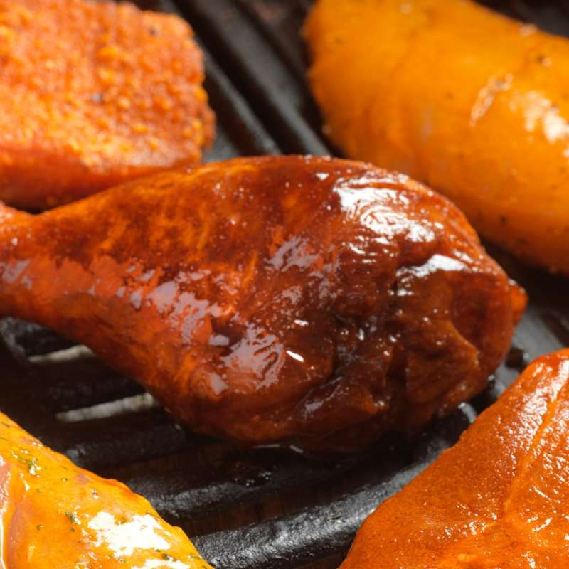 Barbecue Meat Glaze