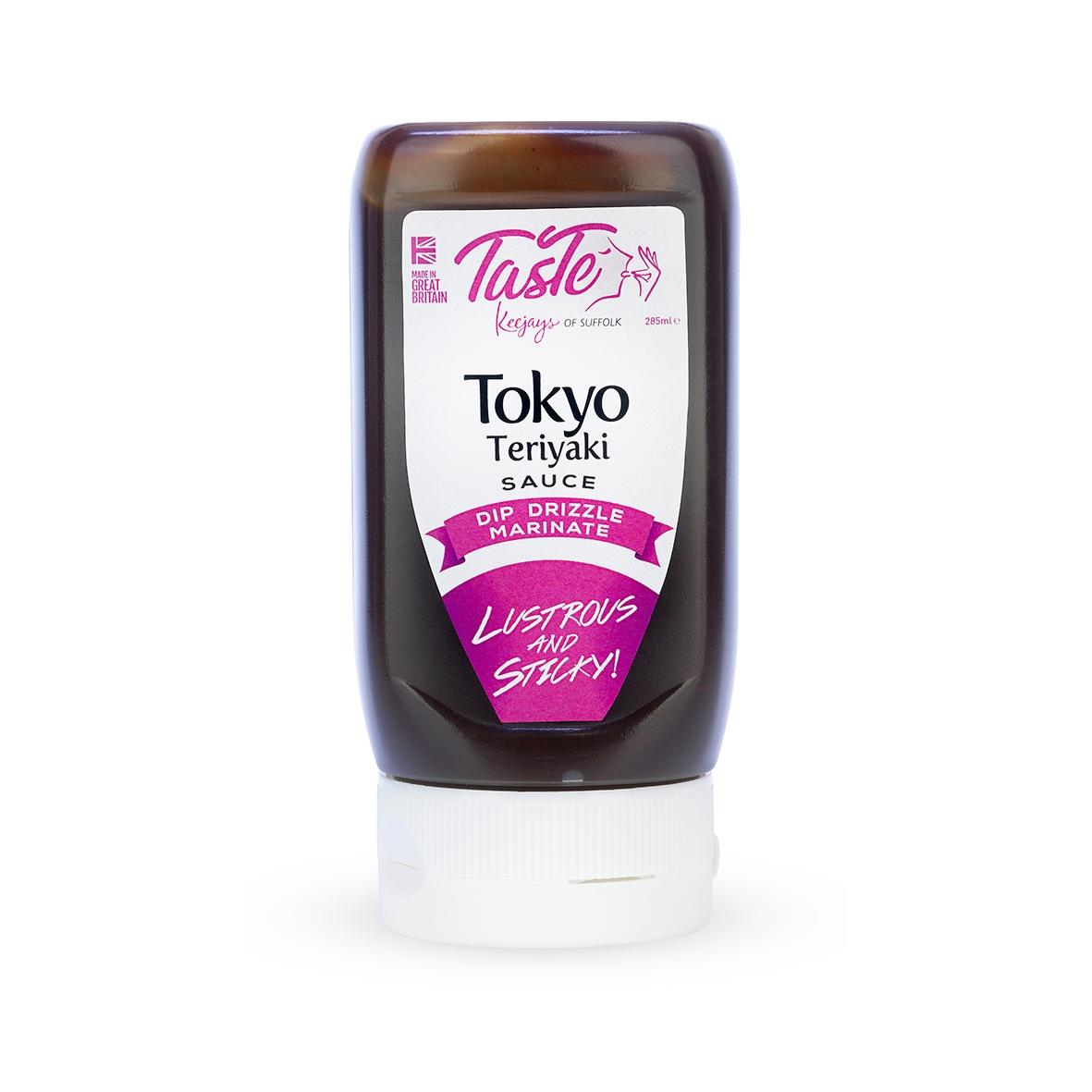 Taste Keejays Of Suffolk Tokyo Teriyaki Condiment Sauce Wholesale Pack