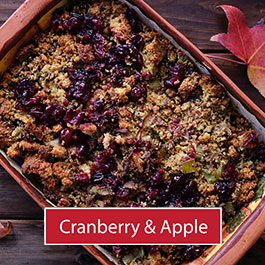 Cranberry and Apple stuffing mix