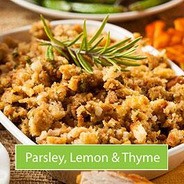 Parsley, lemon and thyme stuffing mix