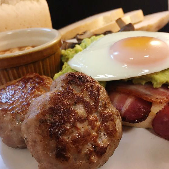 Recipe Idea: Traditional English Breakfast with Arthur Pipkins Gluten Free Olde English Sausages