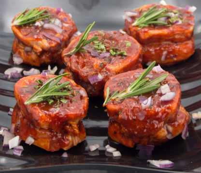 Red Wine and Shallots Lamb Noisettes