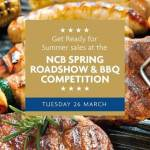 The National Craft Butchers Spring Roadshow - Tuesday 26th March 2019