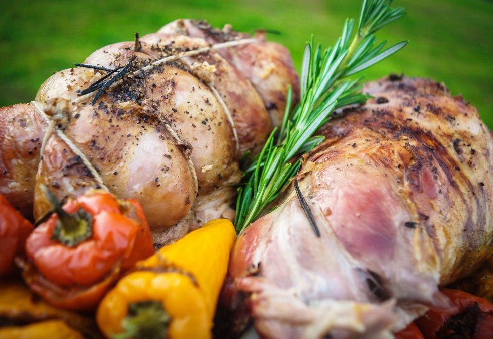Classic Roast Lamb Shoulder with AVO Lafiness Rosemary Marinade