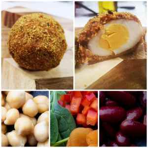 Flexitarian Style Scotch Eggs